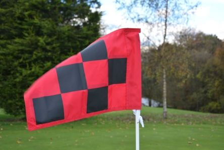 2ply printed chequered flags