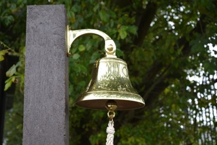 Brass Warning Bell
