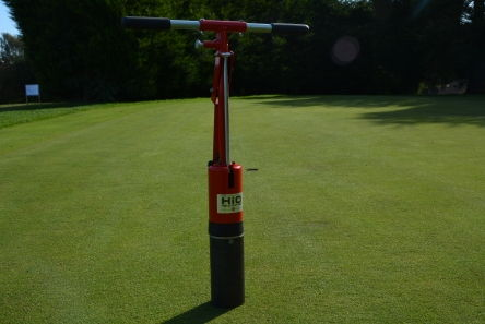 Hio golf hole cutter machine