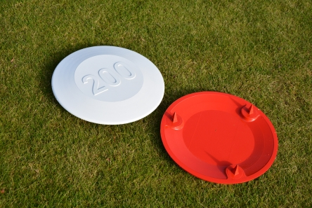 aluminium fairway distance marker for golf course
