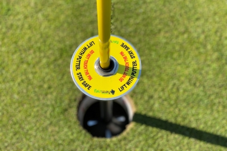 contactless golf ball lifter post covid 19