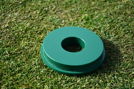 covid 19 golf hole cup solution