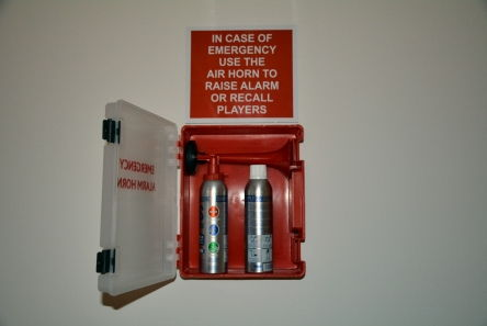 air horn alarm station