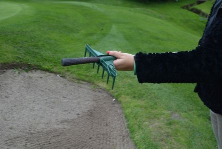 fairway products green mini rake 3