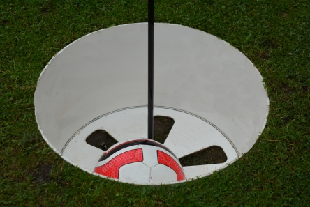 footgolf hole cup