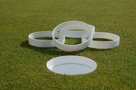 golf hole highlighter plastic rings