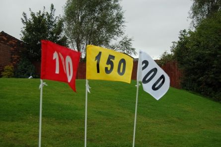 Driving Range/Practice Area Distance Flag