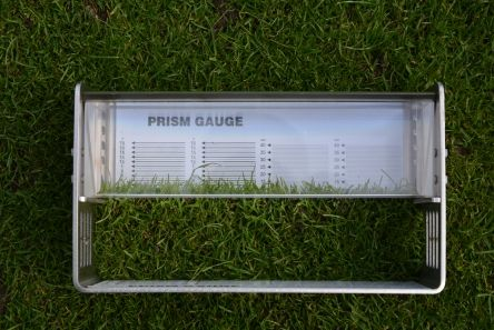 Grass Height Measuring Prism
