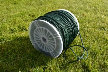 green braided rope for golf course