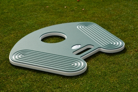 heavy duty golf course hole changing board