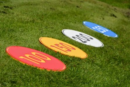 Engraved HD Yardage Marker465