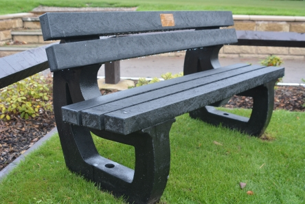 Recycled Plastic Bench Seat620