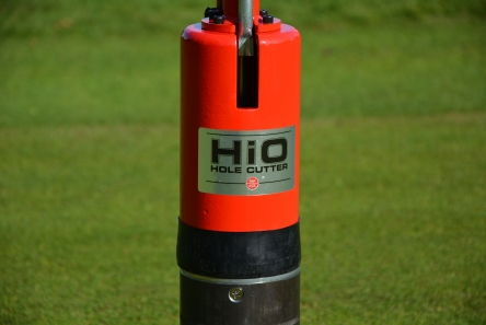 par aide hio hole cutting machine for golf course