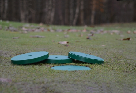 plastic cover for 6 inch golf hole cup