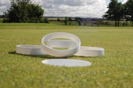 plastic golf hole whitener rings