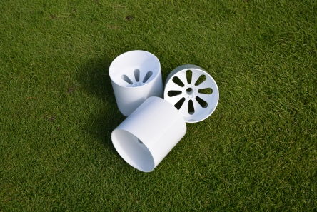 plastic winter golf hole cup