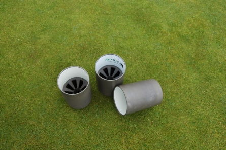pro golf metal hole cup