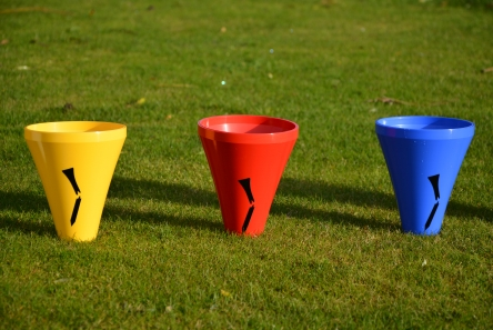 robust golf tee marker in various colours