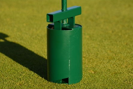 screw action standard golf hole cutter machine
