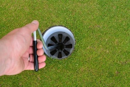 single hook golf hole cup puller