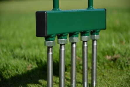 solid tines for aeration fork