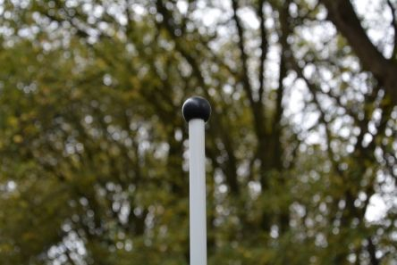 standard top fitting for golf flagstick