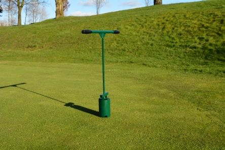 traditional golf regulation hole cutter