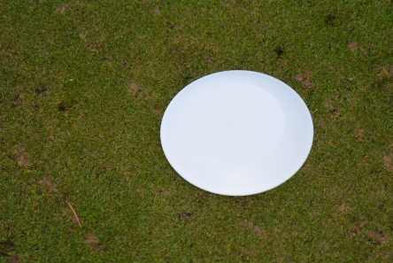 white low profile plastic tee marker