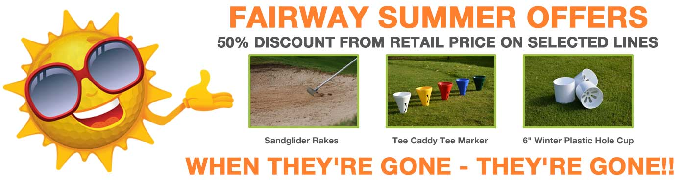 Fairway Summer Offers - 50% discount on selected lines